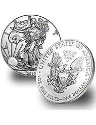 2019 1 Ounce American Silver Eagle $1 Brilliant Uncirculated .999 Fine Silver US Mint