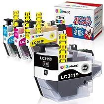 GPC Image ブラザー対応 Brother LC3119-4PK インクカートリッジ...