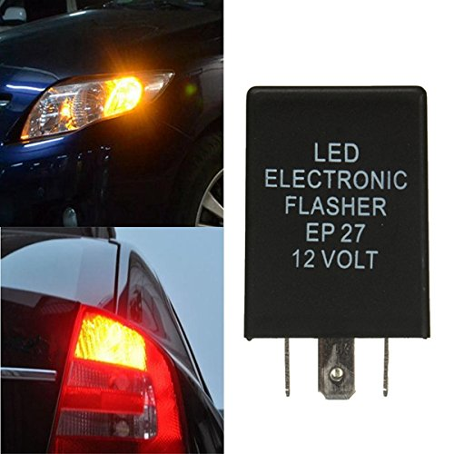 /12/V 5/Pin EP27/LED Flasher Relay for Turn Signal Decoder Load Equalizer Ils/