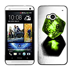 Be Good Phone Accessory // Dura Cáscara cubierta Protectora Caso Carcasa Funda de Protección para HTC One M7 // Design Dice