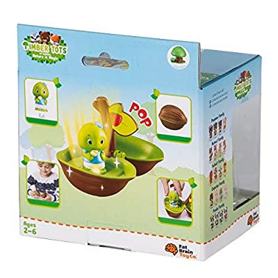 Fat Brain Toys Timber Tots Lite-Up Nut Imaginative Play for Ages 2 to 6: Toys & Games