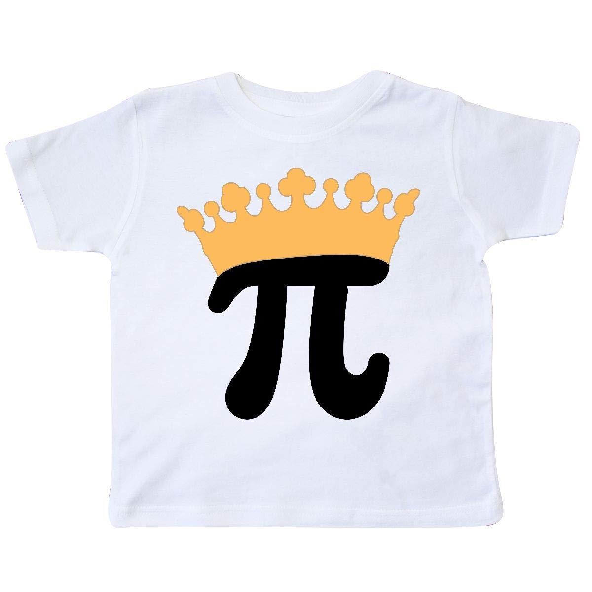 inktastic Pi Day Princess Math Crown Toddler T-Shirt