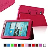 Fintie (Magenta) Slim Fit Folio Case Cover for Samsung Galaxy Tab 7.0 Plus / Samsung Galaxy Tab 2 7.0 Tablet-Multiple Color Options, Best Gadgets