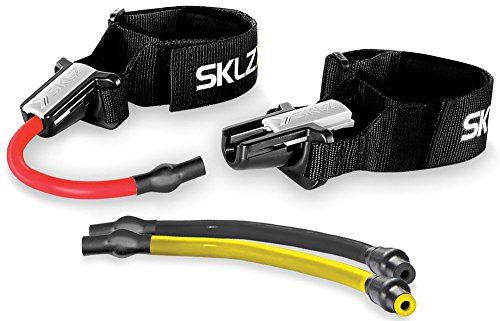 SKLZ Chrome Lateral Resistor Pro Adjustable Lateral Strength and Position (Lateral Power Trainer)
