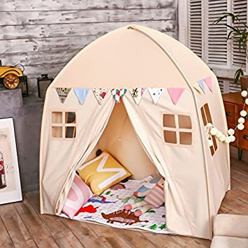 Amazon.com love tree Kids Indoor Princess Castle Play TentsOutdoor Large Playhouse Secret Garden Play Tent - Portable for Indoor and Outdoor Fun Plays ... & Amazon.com: love tree Kids Indoor Princess Castle Play Tents ...