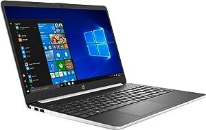 Newest HP 15.6 Inch HD Micro-Edge Touchscreen WLED Flagship Laptop | Intel Core i5-8265U | 12GB DDR4 Memory | 256GB SSD+ Optane | WiFi | Bluetooth | HDMI | Windows 10 | Silver
