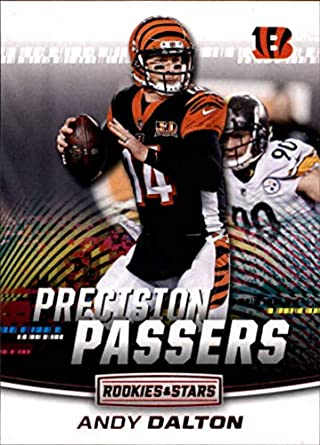 b810839efd4 2018 Rookies and Stars Precision Passers  11 Andy Dalton Cincinnati Bengals  NFL Football Trading Card