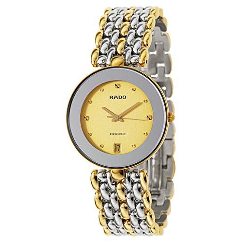 Rado Florence Reloj de hombre cuarzo suizo 35mm caja de acero R48793253: Amazon.es: Relojes
