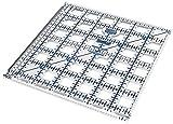 TrueCut TC65SQ   Ruler Track Patchwork Ruler   6.5 x 6.5 ins