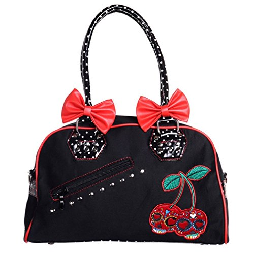 à Dot Sac Polka Cherry Main Banned Skulls xTwgn0qa4