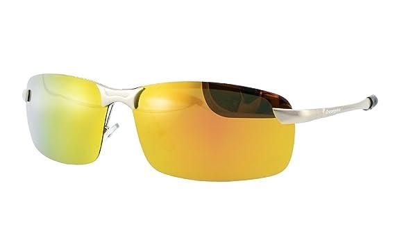 408b5f38fb Dreamviva Polarized Sunglasses AL-MG Frame Anti-Glare UV400 Protection  Driving Fishing Eyewear for Men