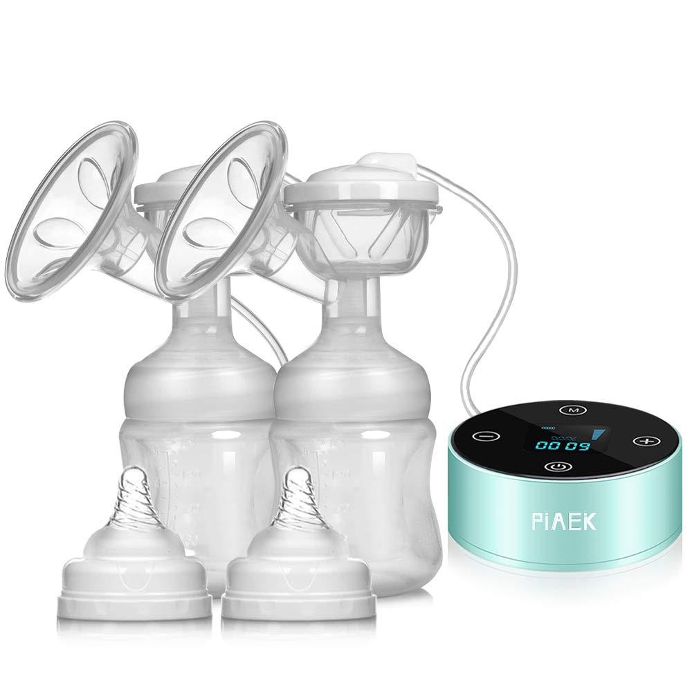 Wiederaufladbar Tragbar Doppel Sauger Elektrische Stillpumpe Brust Massage Brustpumpe Elektrische Milchpumpe