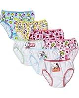 Handcraft Little Girls'  Hello Kitty  Underwear (Pack of 7), Assorted