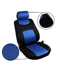 OCPTY   Cojín de asiento con reposacabezas, ruedas y almohadillas para la mayoría de los coches