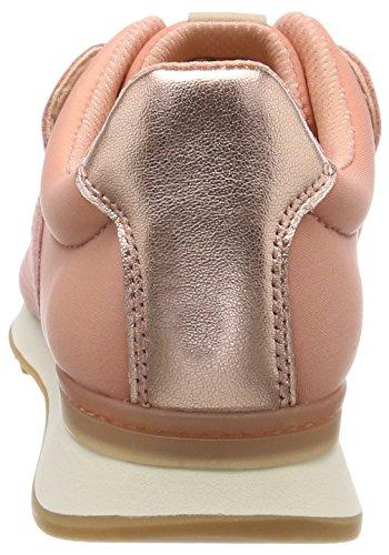 Top Mix Pink Pink Sneakers Combi Clarks Low Floura Women''s OTwqqEI