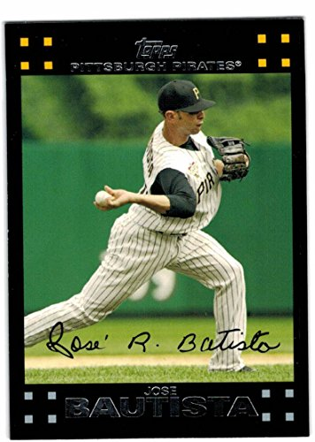 Pittsburgh Pirates Jason Bay (2007 Topps with Update Pittsburgh Pirates Team Set with Jason Bay & Jose Bautista)