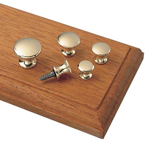 Polished Brass Small Knob - 4