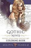 Gothic Minis - Pocket Sized Dark Fantasy Art Coloring Book (Fantasy Coloring by Selina) (Volume 11)