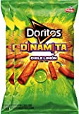 Doritos Dinamita Chile Limon Rolled Flavored Tortilla Chips, 9.25 oz Snack Care Package for College, Military, Sports (2)