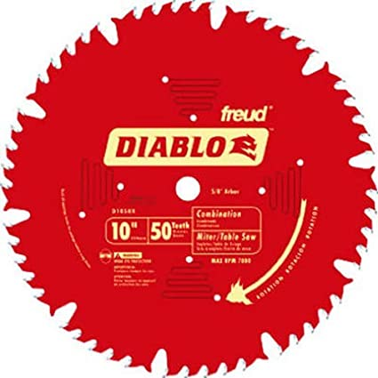 Amazon.com: Freud D1050X Diablo - Hoja de sierra combinada ...