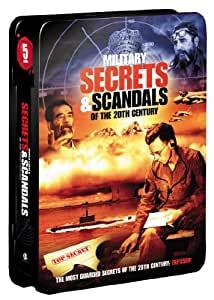 Military Secrets and Scandals of the 20th Century (5-pk)(Tin)