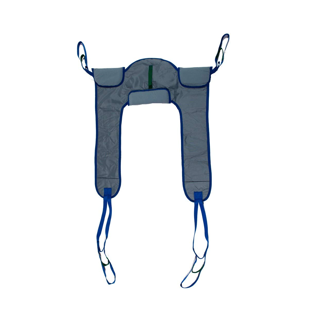 Deluxe Padded Toileting Patient Lift Sling, with Belt, Size (Small), 450lb Weight Capacity