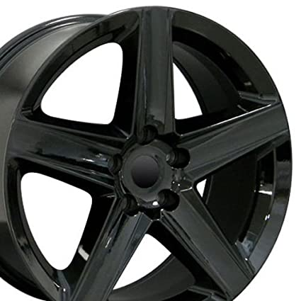 5b97dfc8fb7 Amazon.com  20x9 Wheels Fit Jeep Grand Cherokee - Grand Cherokee Style  Black Rims