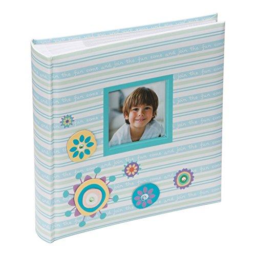 Kenro Candy Fun Memo 200 6x4''/10x15cm Photo Album Blue [CAN101UE]