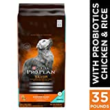 Purina Pro Plan With Probiotics Dry Dog Food, SAVO...