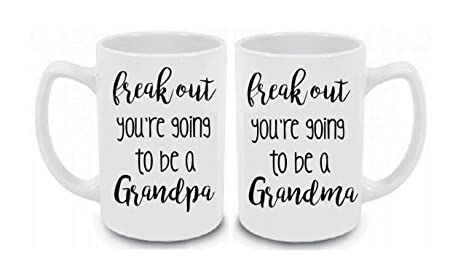 gifts for grandparent announcement freak out youre going to be a grandpa
