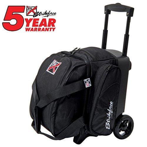 KR Cruiser Single Roller Bowling Bag- Black