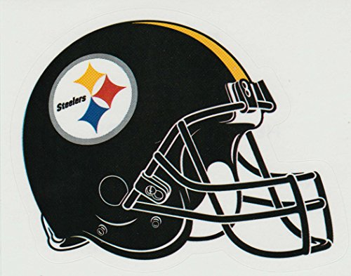 (a ag 4 Pack Pittsburgh Steelers Die Cut Stickers NFL Football Helmet Logo Sticker Team Set Steel City)