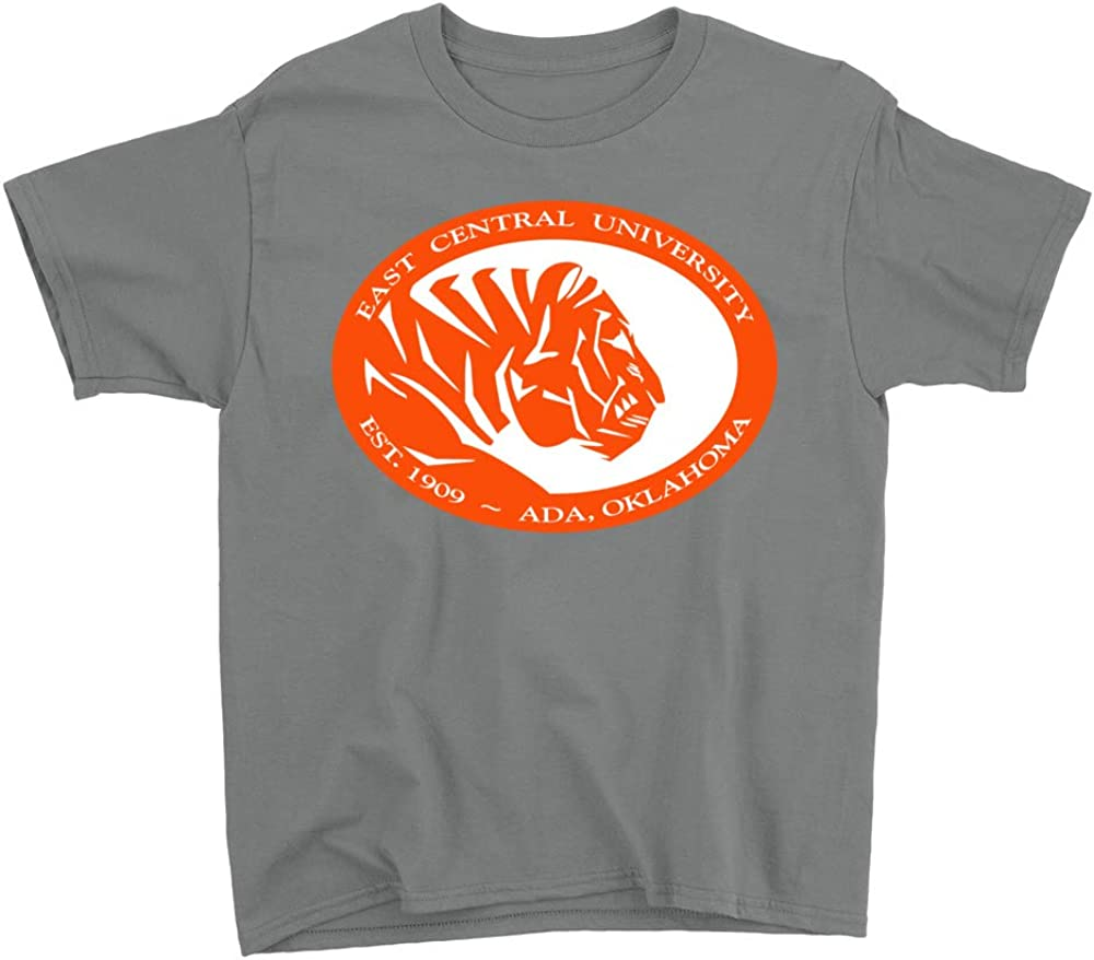 NCAA East Central University Tigers PPEASTU04 Youth T-Shirt