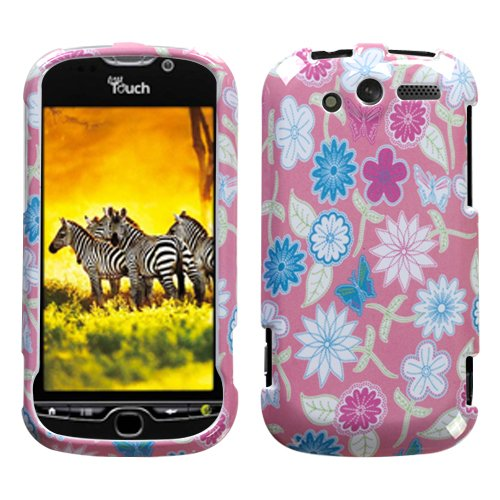 MyBat Stitching Garden Snap-on Hard Phone Protector Case Cover For HTC myTouch 4G