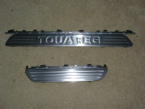 OMTEC interior placa de umbral de la puerta para VW Touareg 2007 + (4 piezas) vw-tr-q125: Amazon.es: Coche y moto