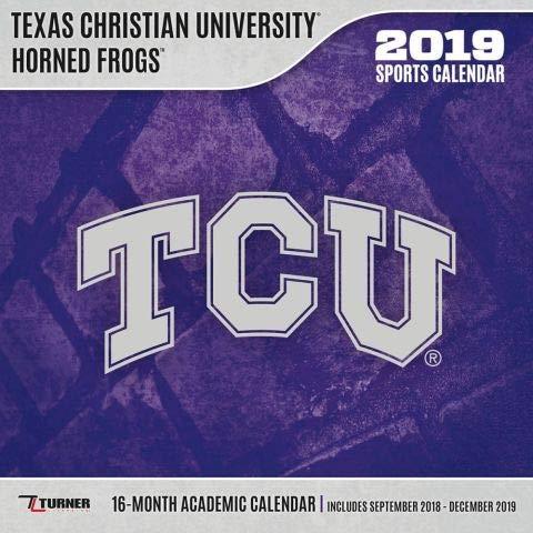 Tcu Calendar 2019 Tcu Horned Frogs 2019 Calendar: Lang Holdings Inc.: 9781469359878