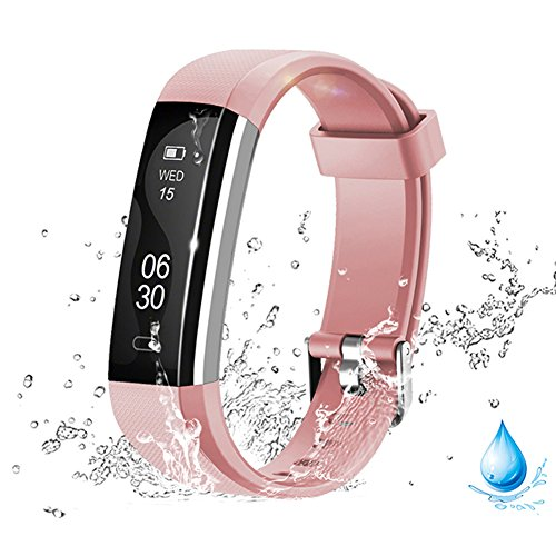 Activity Pedometer - Lintelek Activity Tracker, Smart Watch Pedometer With Steps And Calorie Counter, Sleep Monitor Smart Bracelet For Android Phone Or iphone.