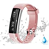 Lintelek Activity Tracker, Smart Watch Pedometer with Steps and Calorie Counter, Sleep Monitor Smart Bracelet for Android Phone Or iPhone.
