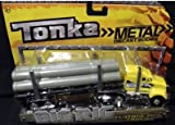 Tonka Metal Diecast Bodies, Big Rig. Flatbed Pipe Truck. 1:55th Scale.
