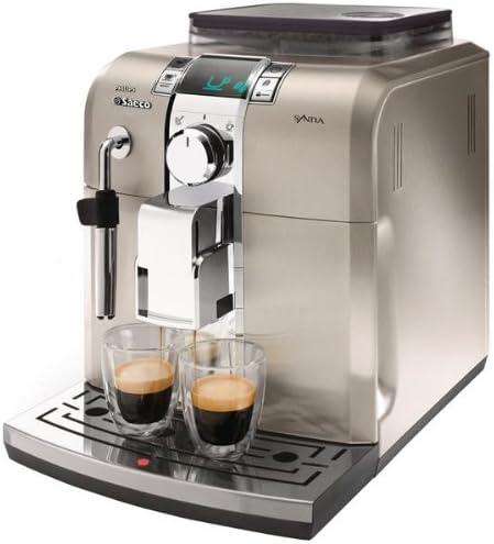 Philips Saeco - Cafetera Espresso Syntia Inox Hd883701 Automatica ...