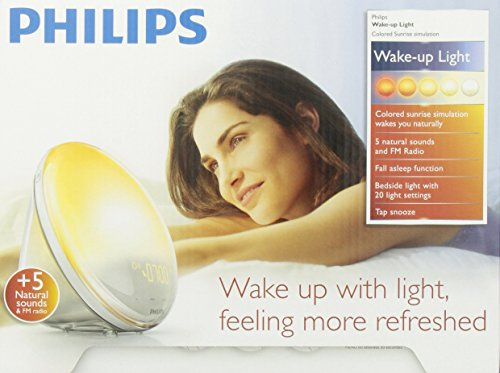 Philips Wake Up Light Alarm Clock With Colored Sunrise