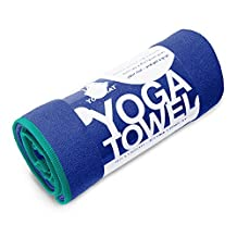 YogaRat 100-Percent Microfiber Yoga Towels, 24-Inch X 72-Inch