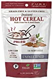 On The Go Paleo Hot Cereal Gluten & Grain Free Unsweetened -- 15.8 oz