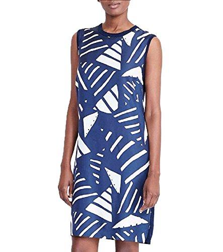 Lauren Jeans CO. Casual Dress (Navy, - Jean Co Polo