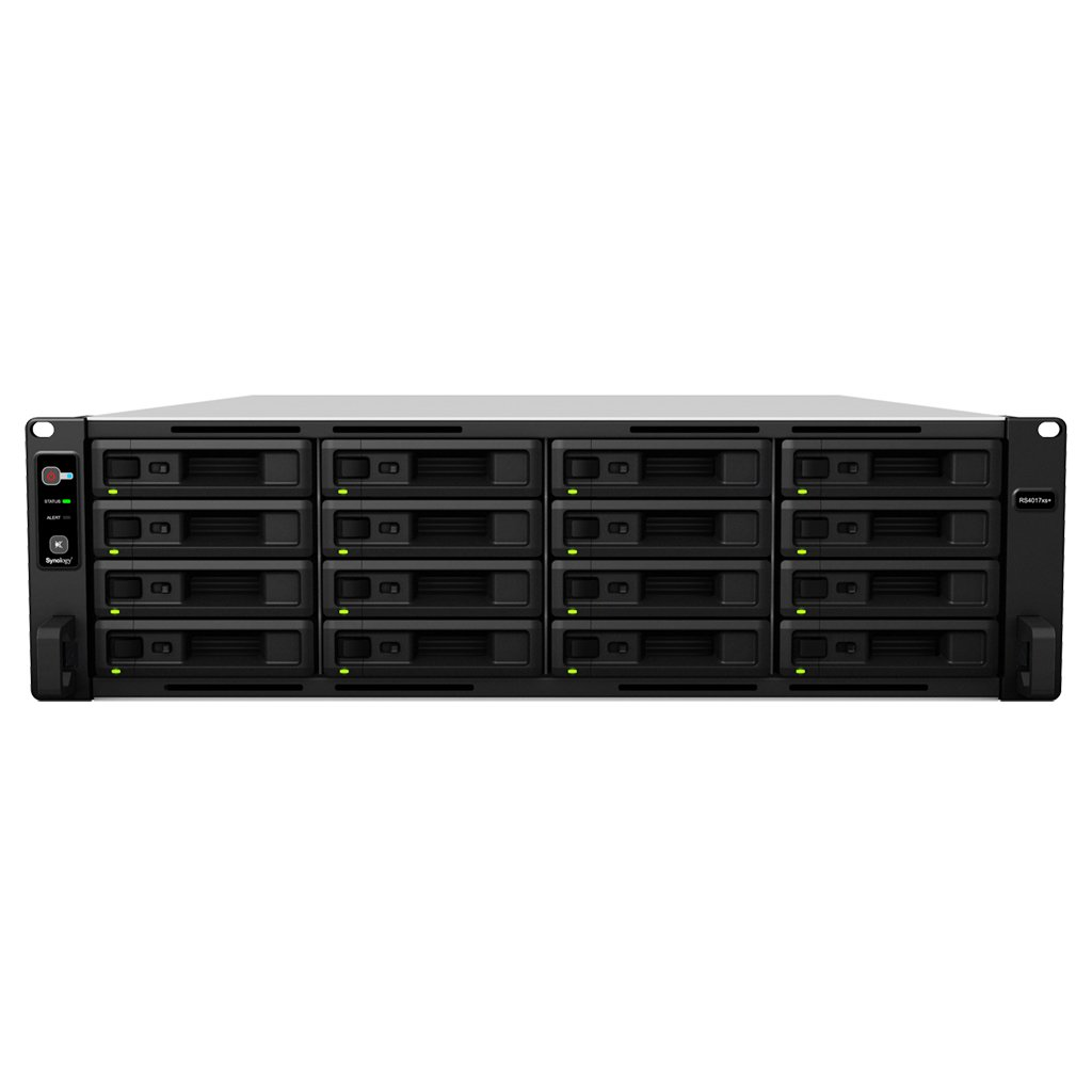 Synology RS4017XS+ - NAS (HomePlug) Color Negro