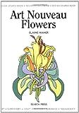 Art Nouveau Flowers, Elaine Hamer, 1844482529