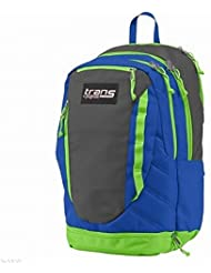 Jansport Trans Blue & Gray Capacitor Backpack Sport School Travel Pack