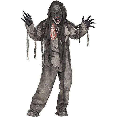Zombie+Costumes Products : Burning Dead Zombie Costume for Kids