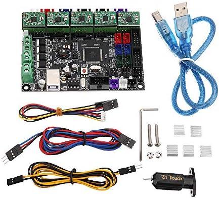 LWQJP MKS-GEN L統合コントローラメインボード+ TL-タッチセンサー付きA4988ドライバ/ラインキット/ヒートシンクのための3Dプリンター