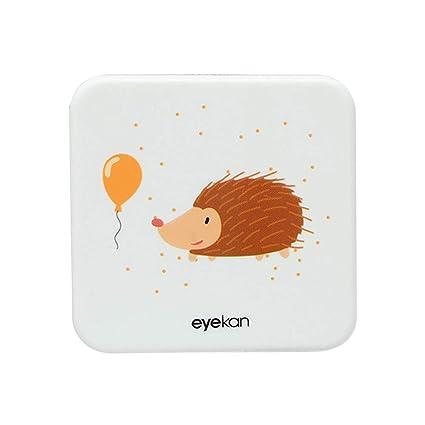 Drawihi Mini Caja Portatil Lentillas Twin Estuche para Gafas y lentillas Caja de Lentes Viaje para Lentes de Contacto Tamano de Bolsillo con para ...